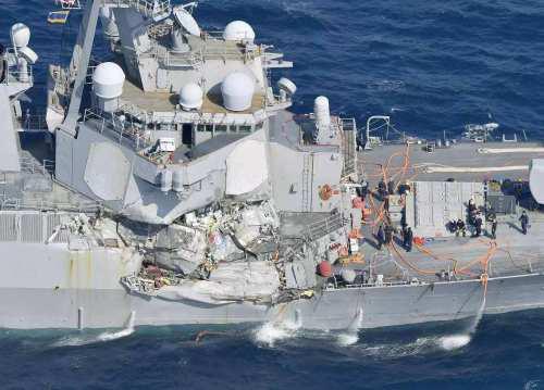▲ 海上撞船虽然被撞的样子不同,但是思考一下原因,大抵是差不多的
