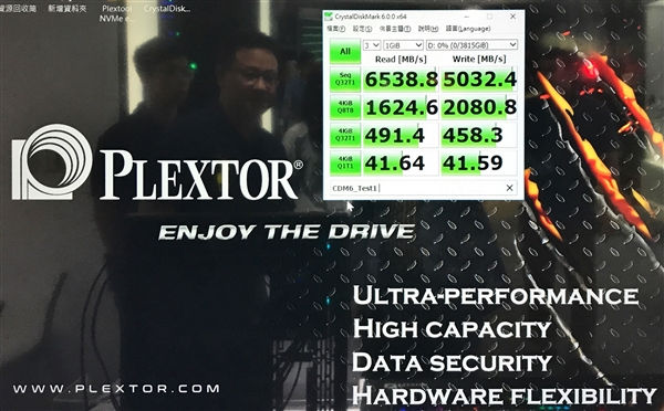 浦科特并联四块M9Pe SSD:读取狂飙6.5GB/s
