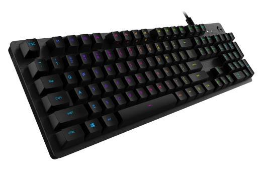 罗技G512 RGB机械键盘发布:模拟茶轴/红轴、649元