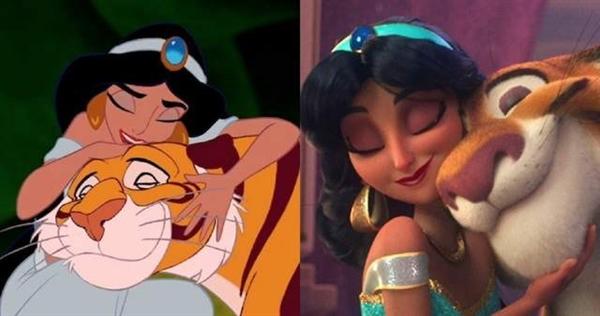 迪士尼公主新形象引热议:有些3D公主就是邪门歪道